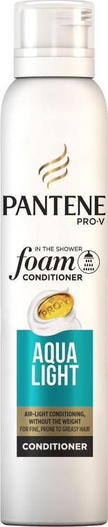 Jemná pěna-kondicionér na vlasy - Pantene Pro-V Aqua Light Foam Conditioner — foto N1