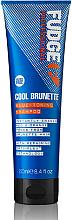 Parfémy, Parfumerie, kosmetika Tónovací šampon na vlasy - Fudge Cool Brunette Blue-toning Shampoo Reviews
