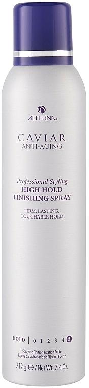 Lak se silnou fixací - Alterna Caviar Anti Aging Professional Styling High Hold Finishing Spray — foto N1