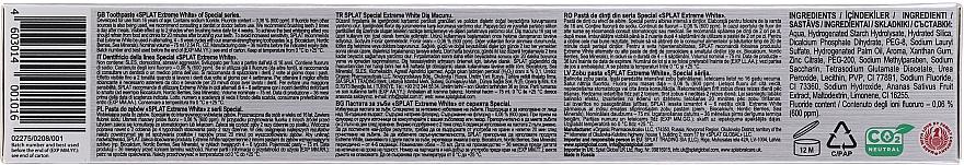 Zubní pasta s extrémně bělícím účinkem - Splat Special Extreme White Toothpaste — foto N3