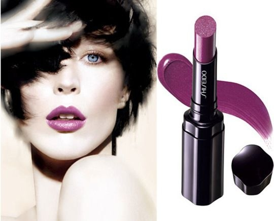 Rtěnka - Shiseido Shimmering Rouge — foto N3