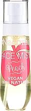 """Parfémy, Parfumerie, kosmetika Sprej na obličej """"Broskev"""" - Nacomi Face Mist Peach"""