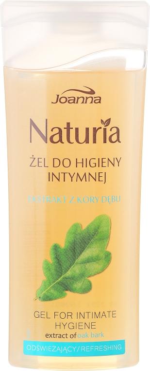 Gel pro intimní hygienu s extraktem z dubové kůry - Joanna Naturia Intimate Hygiene Gel