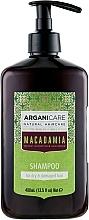 Parfémy, Parfumerie, kosmetika Šampon na suché a poškozené vlasy - Arganicare Macadamia Shampoo