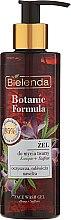 Parfémy, Parfumerie, kosmetika Gel na obličej - Bielenda Botanic Formula Hemp Oil + Saffron Moisturizing Face Wash Gel