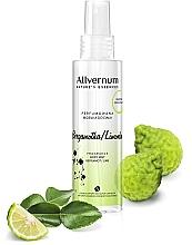"""Parfémy, Parfumerie, kosmetika Parfémovaný sprej na tělo """"Bergamot Lime"""" - Allvernum Nature's Essences Body Mist"""