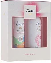 Parfémy, Parfumerie, kosmetika Sada - Dove Relaxing Care Gift Set (sh mousse 200ml + deo 150ml)