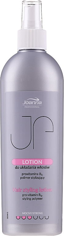 Vlasová emulze, silná fixace - Joanna Professional Lotion for Hair Styling Strong — foto N1