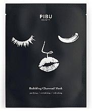 Parfémy, Parfumerie, kosmetika Uhlíková bublinková maska - Pibu Beauty Bubbling Charcoal Mask