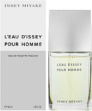 Issey Miyake L'Eau d'Issey Pour Homme Fraiche - Toaletní voda — foto N2