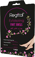 Parfémy, Parfumerie, kosmetika Exfoliační maska na chodidla ve formě ponožek - Regital Exfoliating Foot Socks