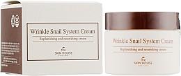 Parfémy, Parfumerie, kosmetika Anti-age hlemýždí pleťový krém - The Skin House Wrinkle Snail System Cream
