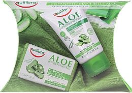 Parfémy, Parfumerie, kosmetika Sada - Equilibra Aloe (cr/75ml + soap/100g)