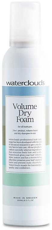 Suchá šamponová pěna na vlasy - Waterclouds Volume Dry Foam — foto N1