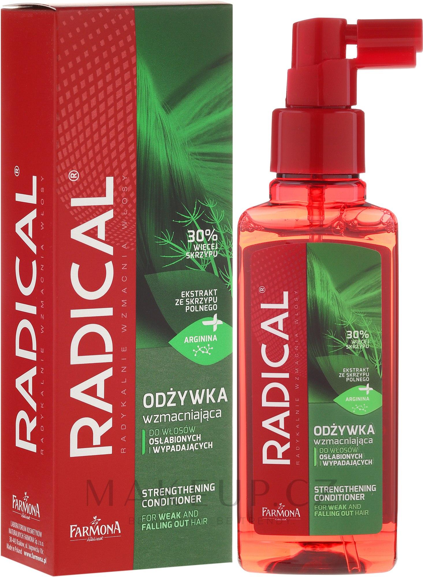 Hydratační kondicionér pro slabé vlasy - Farmona Radical Strengthening Hair Conditioner — foto 100 ml