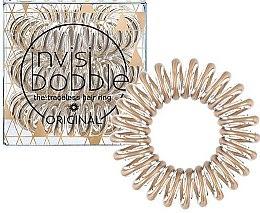 Parfémy, Parfumerie, kosmetika Gumička do vlasů - Invisibobble Original Bronze Me Pretty