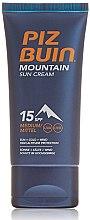 Parfémy, Parfumerie, kosmetika Ochranný krém na obličej - Piz Buin Mountain Sun Cream SPF15