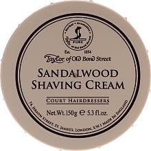 Parfémy, Parfumerie, kosmetika Krém na holení Santalové dřevo - Taylor of Old Bond Street Sandalwood Shaving Cream Bowl