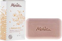Parfémy, Parfumerie, kosmetika Mýdlo na obličej a tělo - Melvita L'Argan Bio Soap With Argan Oil