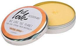 """Parfémy, Parfumerie, kosmetika Přírodní krémový deodorant """"Original Orange"""" - We Love The Planet Deodorant Original Orange"""