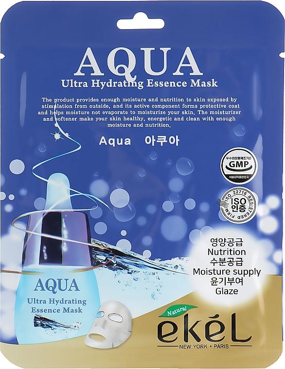 Pleťová látková maska hydratační - Ekel Aqua Ultra Hydrating Essence Mask