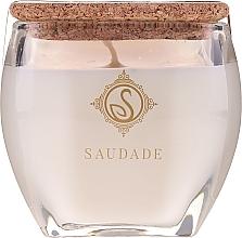 Parfémy, Parfumerie, kosmetika Vonná svíčka Vanilla jantarová - Essencias De Portugal Senses Saudade Vanilla Amber Candle