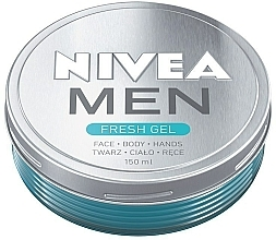 Parfémy, Parfumerie, kosmetika Hydratační gel na obličej a tělo - Nivea Men Fresh Gel