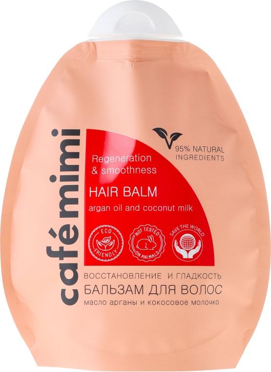"""Balzám na vlasy """"Obnova a hladkost"""" - Cafe Mimi Hair Balm"""