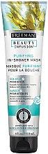 "Parfémy, Parfumerie, kosmetika Čistící maska na obličej ""Mořské řasy + probiotika"" - Freeman Feeling Beautiful Purifying In-Shower Mask Sea Kelp + Probiotics"