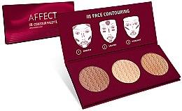 Parfémy, Parfumerie, kosmetika Konturovací paleta na obličej - Affect Cosmetics Contour Palette