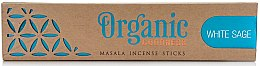 Parfémy, Parfumerie, kosmetika Aroma tyčinky - Song Of India Organic Goodness White Sage