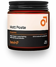 Parfémy, Parfumerie, kosmetika Pasta na vlasy - Beviro Matt Paste Strong Hold