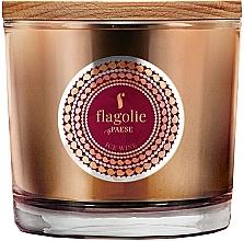 Parfémy, Parfumerie, kosmetika Vonná svíčka v sklenici Ledové víno - Flagolie Fragranced Candle Ice Wine
