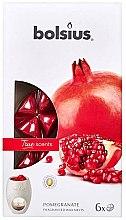 """Parfémy, Parfumerie, kosmetika Aromatický vosk """"Granátové jablko"""" - Bolsius True Scents Pomegranate"""