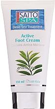 Parfémy, Parfumerie, kosmetika Krém na nohy Zelený čaj - Saito Spa Active Foot Cream Green Tea