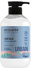 Parfémy, Parfumerie, kosmetika Balzám pro všechny typy vlasů Kokos a moruše - Ecolatier Urban Hair Balm