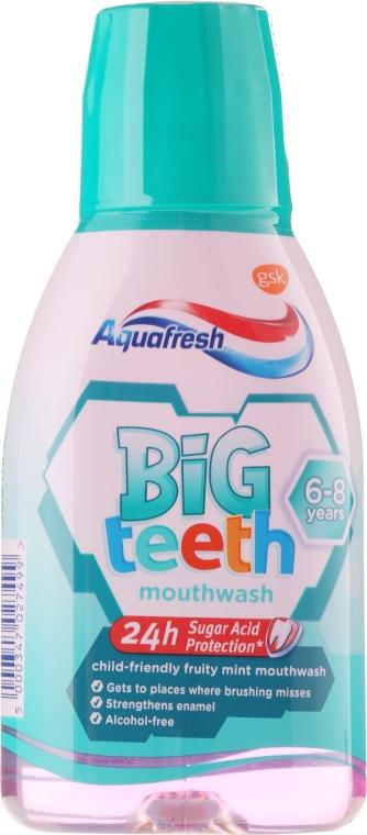 Ustní voda - Aquafresh Big Teeth Mouthwash