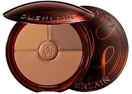 Parfémy, Parfumerie, kosmetika Bronzující a zvyrazňující pudr - Guerlain Terracotta Sun Trio Powder