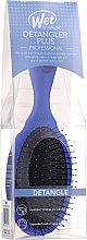 Parfémy, Parfumerie, kosmetika Kartáč na zamotané vlasy, modrý - Wet Brush Pro Detangler Plus Blue