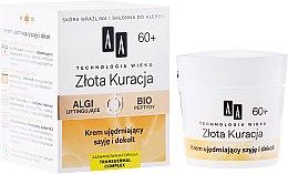 Parfémy, Parfumerie, kosmetika Zpevňující krém na krk a dekolt - AA Age Technology Golden Revival Cream