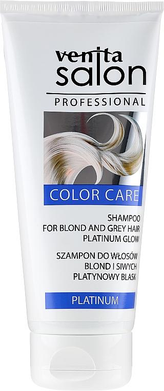 Šampon na vlasy - Venita Salon Professional Platinum Shampoo