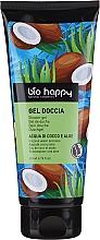 Parfémy, Parfumerie, kosmetika Sprchový gel Kokosová voda a aloe - Bio Happy Shower Gel Coconut Water And Aloe