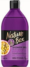 Parfémy, Parfumerie, kosmetika Sprchový gel - Nature Box Passion Fruit oil Shower Gel