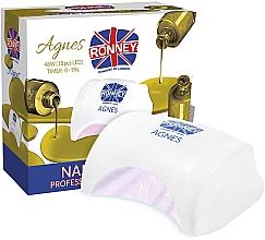 Parfémy, Parfumerie, kosmetika Lampa na nehty LED, bílá - Ronney Profesional Agnes LED 48W (GY-LED-032)