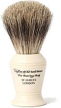 Parfémy, Parfumerie, kosmetika Štětka na holení, P374 - Taylor of Old Bond Street Shaving Brush Pure Badger size S