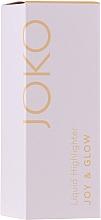 Parfémy, Parfumerie, kosmetika Tekutý rozjasňovač - Joko Joy & Glow Liquid Highlighter