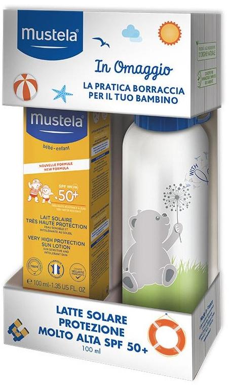 Sada - Mustela Bebe (sun/cr/100ml + bottle/1pcs) — foto N1