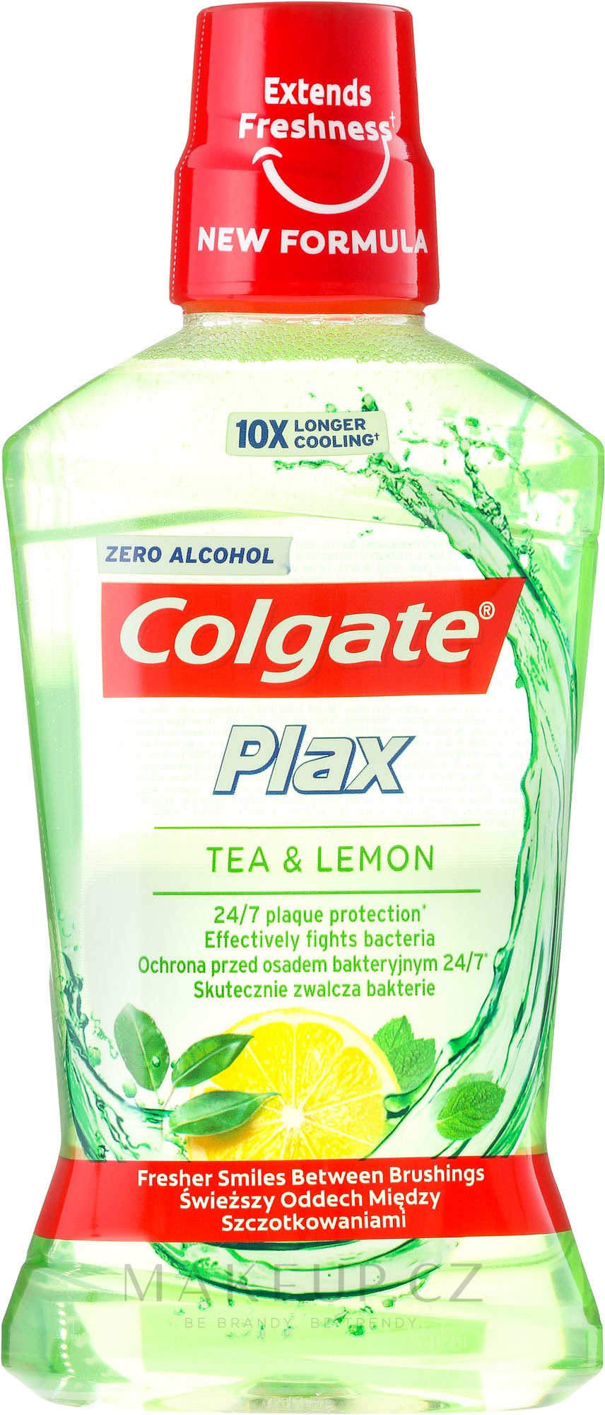 "Ustní voda ""Čaj a citron"" - Colgate Plax Tea&Lemon — foto 500 ml"