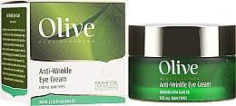 Parfémy, Parfumerie, kosmetika Oční krém proti vráskám - Frulatte Olive Anti-Wrinkle Eye Cream