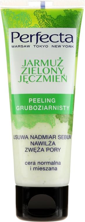 Peeling na obličej Zelí a zelený ječmen - Perfecta